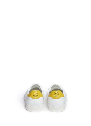 Back View - Click To Enlarge - Anya Hindmarch - 'Wink' leather tennis shoes