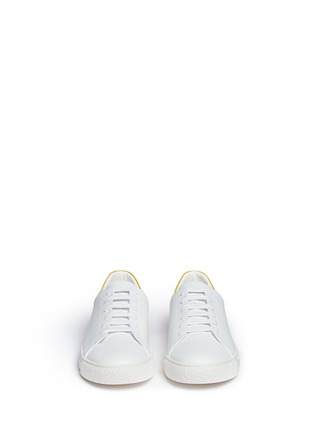Front View - Click To Enlarge - Anya Hindmarch - 'Wink' leather tennis shoes