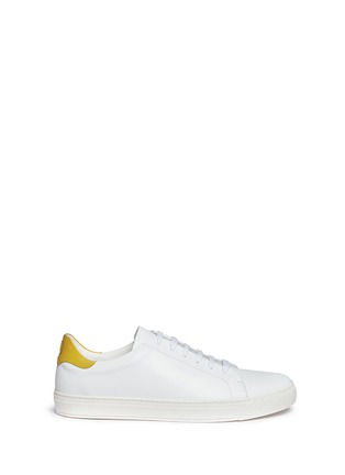Main View - Click To Enlarge - Anya Hindmarch - 'Wink' leather tennis shoes