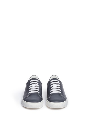 Front View - Click To Enlarge - Anya Hindmarch - 'Eyes' leather tennis shoes