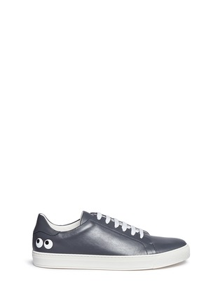 Main View - Click To Enlarge - Anya Hindmarch - 'Eyes' leather tennis shoes