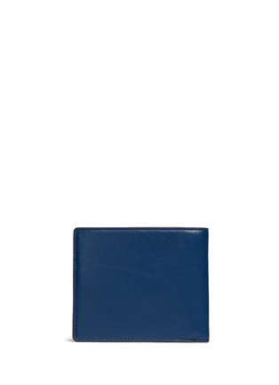 Back View - Click To Enlarge - Anya Hindmarch - 'Wink' perforated leather bifold wallet