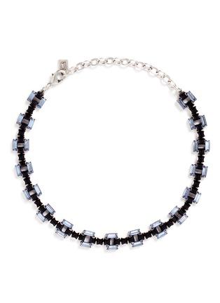 Main View - Click To Enlarge - Dannijo - 'Lucca' Swarovski crystal necklace