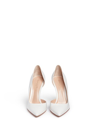 Front View - Click To Enlarge - Gianvito Rossi - 'Biba' calfskin leather pumps