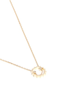 Figure View - Click To Enlarge - RUIFIER - 'Ciro' diamond 9k yellow gold pendant necklace
