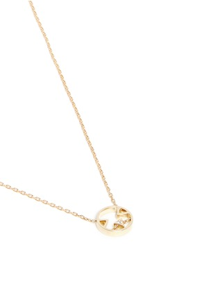Figure View - Click To Enlarge - RUIFIER - 'Joy' diamond 9k yellow gold pendant necklace