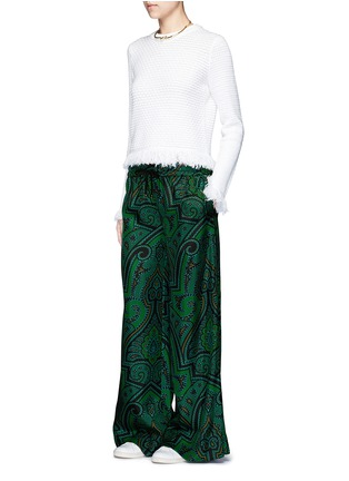 Figure View - Click To Enlarge - F.R.S FOR RESTLESS SLEEPERS - 'Callisto' paisley print pyjama pants