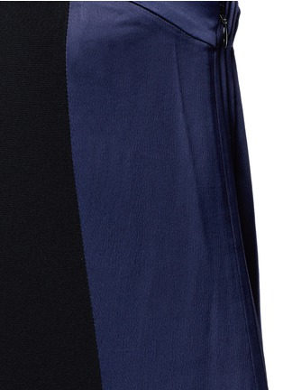 Detail View - Click To Enlarge - rag & bone - 'Ida' satin stripe strapless ottoman jumpsuit