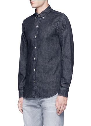 Front View - Click To Enlarge - Denham - 'Rhys' denim shirt