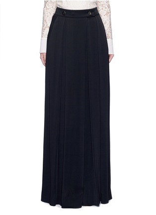 Main View - Click To Enlarge - Lanvin - Satin crepe wide leg pants