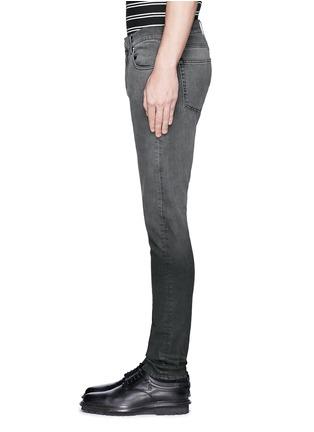 Detail View - Click To Enlarge - ALEXANDER MCQUEEN - Slim fit dégradé stretch denim jeans