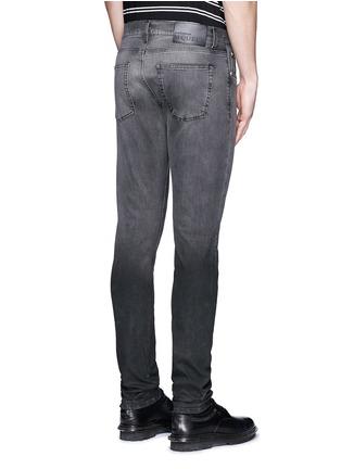 Back View - Click To Enlarge - ALEXANDER MCQUEEN - Slim fit dégradé stretch denim jeans