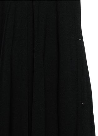Detail View - Click To Enlarge - HELMUT LANG - V-neck crepe maxi dress
