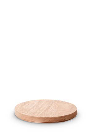 Main View - Click To Enlarge - knIndustrie - ABCT 24cm mahogany wood lid
