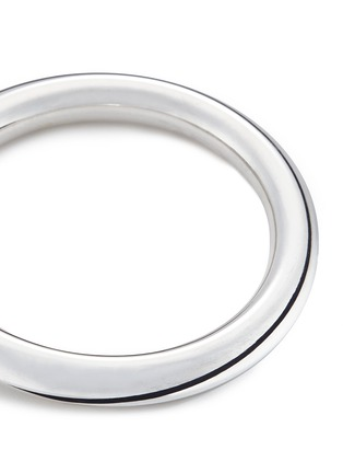 Detail View - Click To Enlarge - Sophie Buhai - 'Classic Circle' sterling silver bangle
