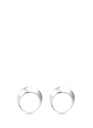 Figure View - Click To Enlarge - Sophie Buhai - 'Disc' sterling silver two ring set