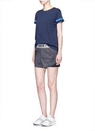 Figure View - Click To Enlarge - LNDR - 'Luna' double layer running shorts