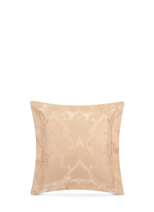 Main View - Click To Enlarge - Frette - Luxury Palmette jacquard Euro size sham