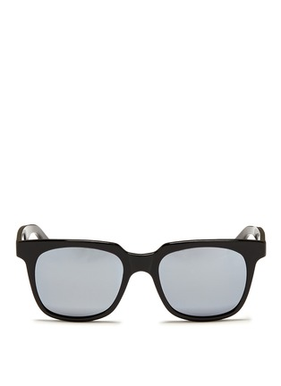 Main View - Click To Enlarge - Ross & Brown - 'Portofino' acetate square sunglasses