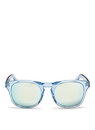 Main View - Click To Enlarge - Ross & Brown - 'Roma' keyhole bridge acetate sunglasses