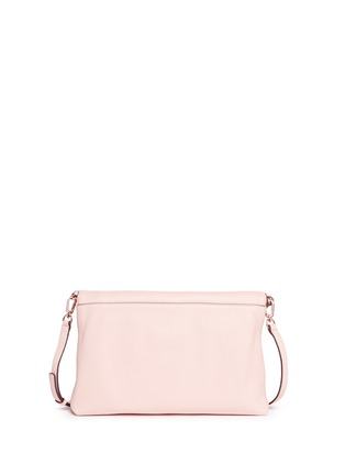 Back View - Click To Enlarge - TORY BURCH - 'Thea' leather foldover messenger bag