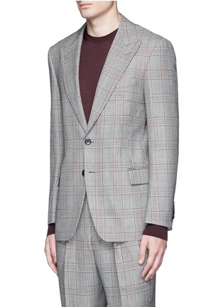 Front View - Click To Enlarge - TOMORROWLAND - Dormeuil Sportex Vintage® wool houndstooth blazer