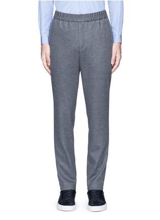 Main View - Click To Enlarge - Tomorrowland - Drawstring wool felt pants