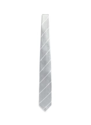Main View - Click To Enlarge - Tomorrowland - Stripe cotton-silk satin tie