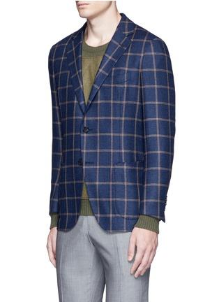 Front View - Click To Enlarge - TOMORROWLAND - Loro Piana Dream Tweed® wool soft blazer