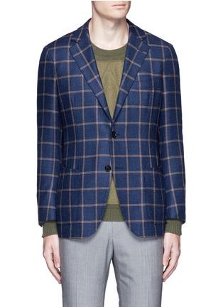 Main View - Click To Enlarge - TOMORROWLAND - Loro Piana Dream Tweed® wool soft blazer