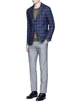 Figure View - Click To Enlarge - TOMORROWLAND - Loro Piana Dream Tweed® wool soft blazer