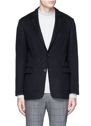 Main View - Click To Enlarge - TOMORROWLAND - Felted cotton soft blazer