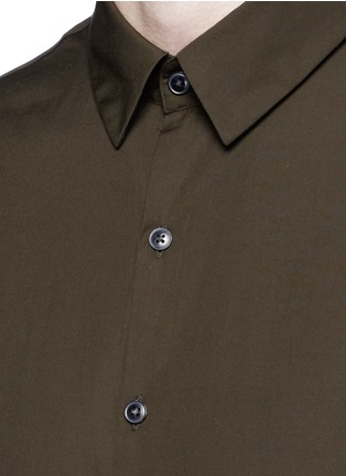 Detail View - Click To Enlarge - Tomorrowland - Cotton poplin shirt