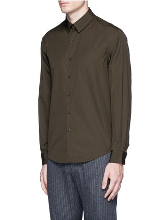 Front View - Click To Enlarge - Tomorrowland - Cotton poplin shirt