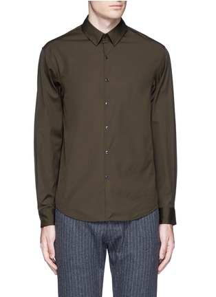 Main View - Click To Enlarge - Tomorrowland - Cotton poplin shirt