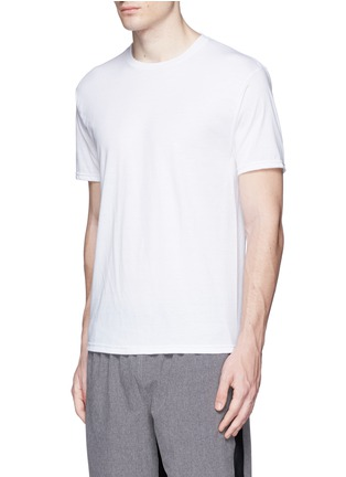 Front View - Click To Enlarge - Icny - Reflective logo print T-shirt