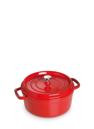 Main View - Click To Enlarge - Staub - Cast iron 24cm round cocotte