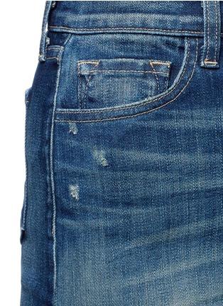 Detail View - Click To Enlarge - J Brand - 'Rosalie' button denim skirt