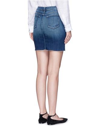 Back View - Click To Enlarge - J Brand - 'Rosalie' button denim skirt