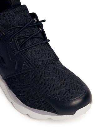 - Reebok - 'FuryLite TM' diamond mesh sneakers