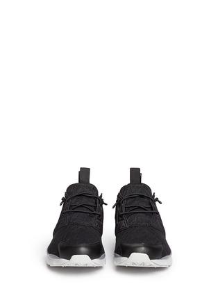 Figure View - Click To Enlarge - Reebok - 'FuryLite TM' diamond mesh sneakers