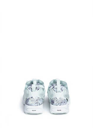 Back View - Click To Enlarge - Reebok - 'InstaPump Fury SG' botanical print sneakers