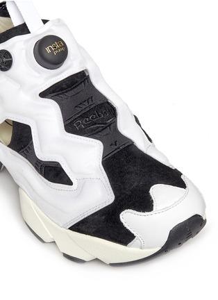 Detail View - Click To Enlarge - Reebok - 'InstaPump Fury OG ACHM' slip-on sneakers
