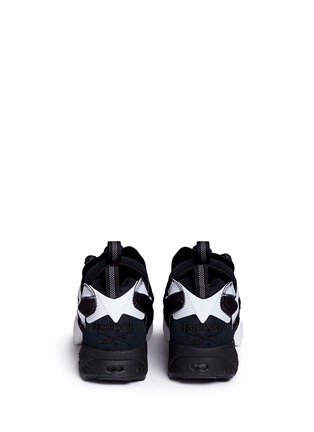 Back View - Click To Enlarge - Reebok - 'InstaPump Fury OB' slip-on sneakers