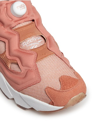Detail View - Click To Enlarge - REEBOK - 'InstaPump Fury OG BK' slip-on sneakers