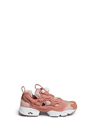 Main View - Click To Enlarge - REEBOK - 'InstaPump Fury OG BK' slip-on sneakers
