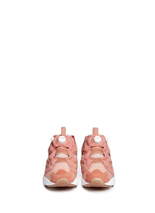 Figure View - Click To Enlarge - REEBOK - 'InstaPump Fury OG BK' slip-on sneakers