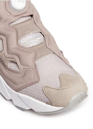Detail View - Click To Enlarge - Reebok - 'InstaPump Fury OG BK' slip-on sneakers
