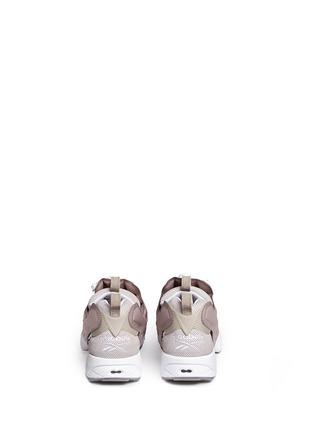 Back View - Click To Enlarge - Reebok - 'InstaPump Fury OG BK' slip-on sneakers