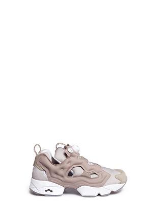 Main View - Click To Enlarge - Reebok - 'InstaPump Fury OG BK' slip-on sneakers